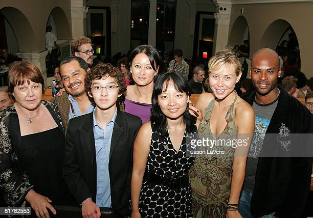 Susan Ruttan Francisco Velasquez Alexander Agate Julia Nickson Jennifer Phang Sanoe Lake and Lee Marks attend the 2008 Los Angeles Film Festival's...