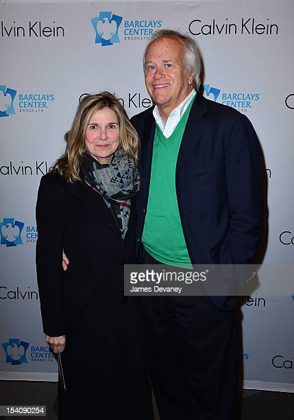 Susan Saint James and Dick Ebersol attend Barbra Streisand In Concert at Barclays Center of Brooklyn on October 13 2012 in New York City