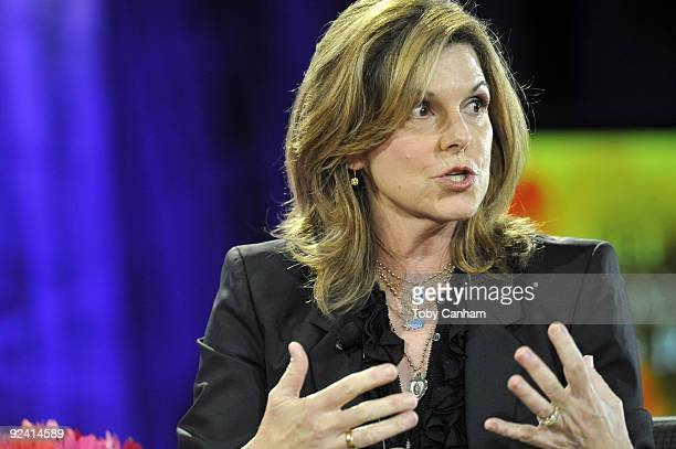 Susan Saint James participates in a panel discussion at the 2009 Women's Conference held at Long Beach Convention Center on October 27 2009 in Long...