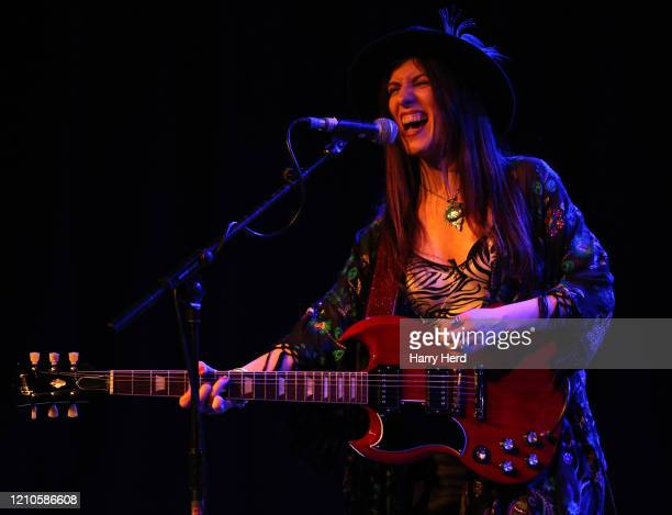 Susan Santos performs at The 1865 on March 04, 2020 in Southampton, England.