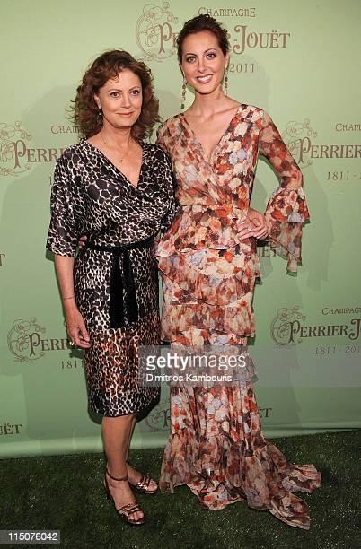 Susan Sarandon and Eva Amurri host the PerrierJouet 200th Anniversary Party at the Mondrian Soho on June 2 2011 in New York City