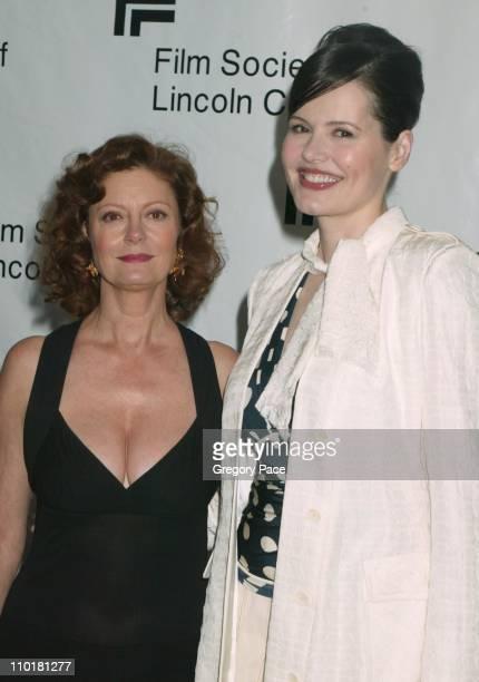 Susan Sarandon and Geena Davis both in Donna Karan