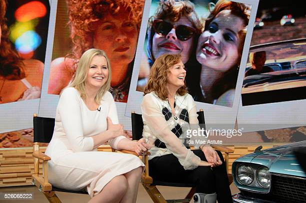 AMERICA Susan Sarandon and Geena Davis celebrate the 25th anniversary of their iconic film Thelma Louise on GOOD MORNING AMERICA airing THURSDAY...