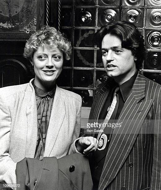 Susan Sarandon and Jonathan Demme during Players Club Party Celebrating The American Playhouse November 18 1981 at Players Club in New York City New...
