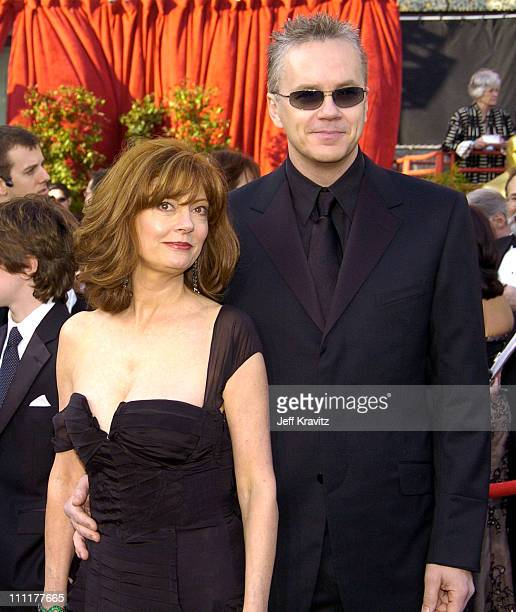 Susan Sarandon and Tim Robbins during The 76th Annual Academy Awards - Arrivals by Jeff Kravitz at Kodak Theatre in Hollywood, California, United...