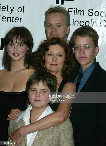 Susan Sarandon and Tim Robbins with sons Jack Henry and Miles and daughter Eva Amurri
