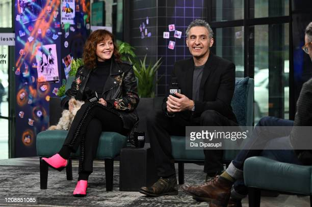 Susan Sarandon and writer/director John Turturro visit the Build Series to discuss The Jesus Rolls at Build Studio on February 26 2020 in New York...