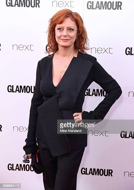 Susan Sarandon arrives for the Glamour Women Of The Year Awards on June 7 2016 in London United Kingdom