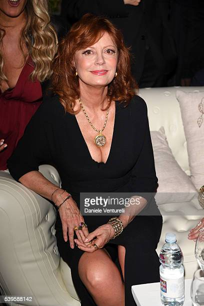 Susan Sarandon attends 62 Taormina Film Fest Day 2 on June 12 2016 in Taormina Italy