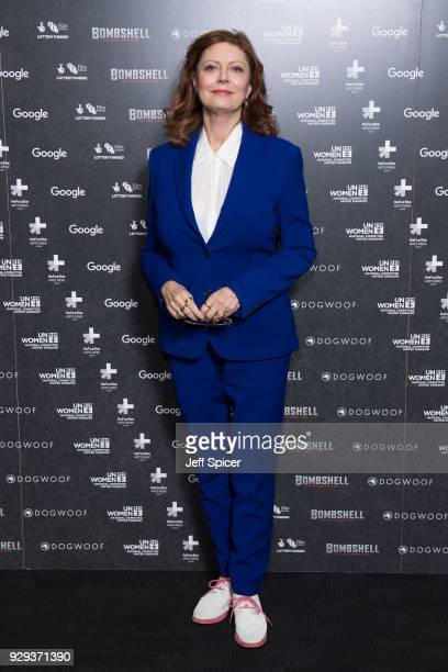 Susan Sarandon attends a special screening of Bombshell The Hedy Lamarr Story at BFI Southbank on March 8 2018 in London United Kingdom