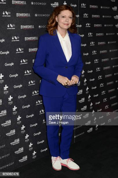 Susan Sarandon attends Bombshell The Hedy Lamarr Story special screening at BFI Southbank on March 8 2018 in London United Kingdom