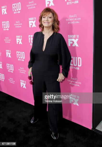 Susan Sarandon attends FX's 'Feud Bette And Joan' FYC event at The Wilshire Ebell Theatre on April 21 2017 in Los Angeles California