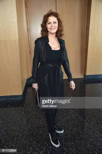 Susan Sarandon attends Roc Nation THE BRUNCH at One World Observatory on January 27 2018 in New York City