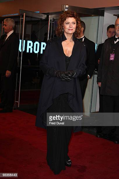 Susan Sarandon attends The 2009 Royal Film Performance and World Premiere of 'The Lovely Bones' at Odeon Leicester Square on November 24, 2009 in...
