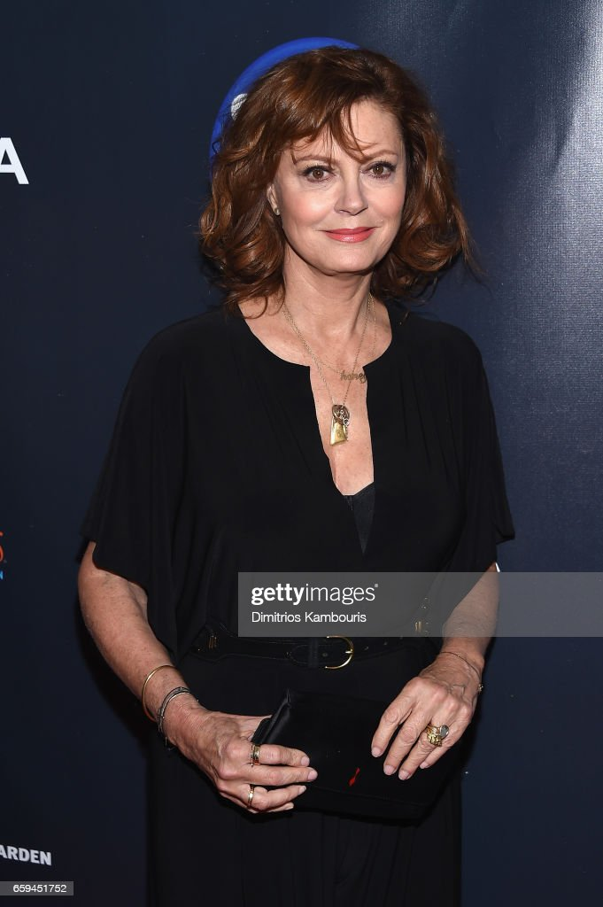 Susan Sarandon attends the 2017 Garden Of Laughs Comedy Benefit at The Theater at Madison Square Garden on March 28, 2017 in New York City.
