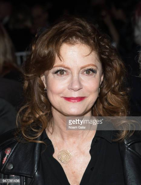 Susan Sarandon attends the 2018 New York Live Arts Gala at Irving Plaza on April 16 2018 in New York City