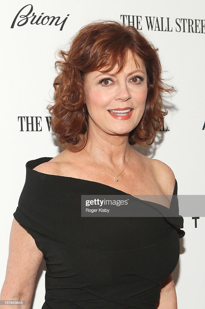 Susan Sarandon attends the 'Arbitrage' New York Premiere at Walter Reade Theater on September 12, 2012 in New York City.