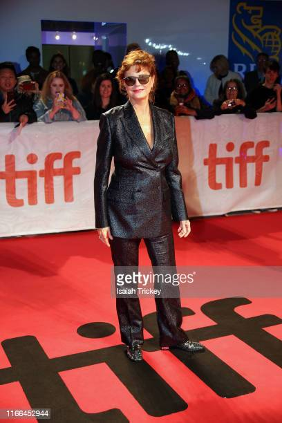 Susan Sarandon attends the Blackbird premiere during the 2019 Toronto International Film Festival at Roy Thomson Hall on September 06 2019 in Toronto...