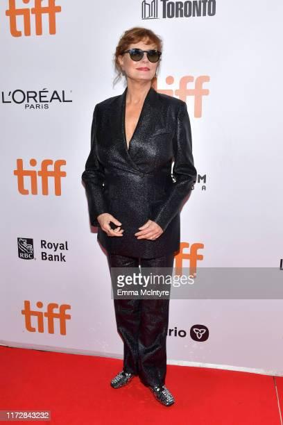 Susan Sarandon attends the Blackbird premiere during the 2019 Toronto International Film Festival at Roy Thomson Hall on September 06 2019 in Toronto...