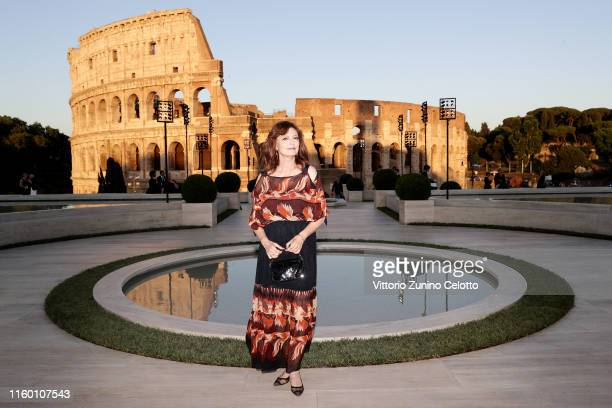 Susan Sarandon attends the Cocktail at Fendi Couture Fall Winter 2019/2020 on July 04 2019 in Rome Italy