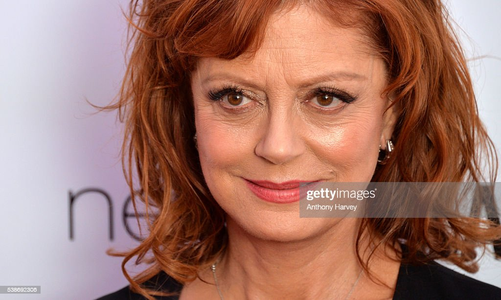 Susan Sarandon attends the Glamour Women Of The Year Awards at Berkeley Square Gardens on June 7, 2016 in London, England.