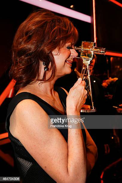 Susan Sarandon attends the Goldene Kamera 2015 after show party on February 27 2015 in Hamburg Germany