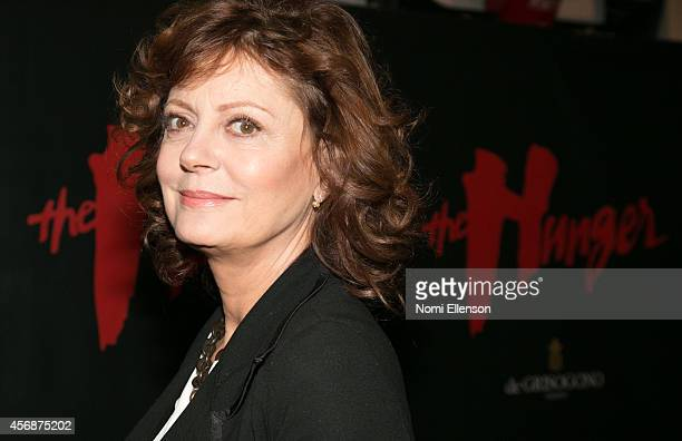 Susan Sarandon attends 'The Hunger' Private New York City Screening at The Museum of Modern Art on October 8 2014 in New York City