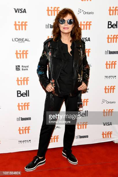 Susan Sarandon attends the Viper Club premiere during 2018 Toronto International Film Festival at Winter Garden Theatre on September 11 2018 in...
