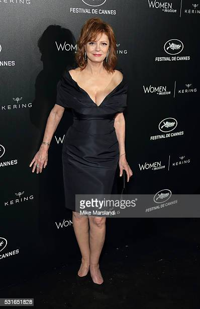Susan Sarandon attends the 'Women in Motion' Prize Reception part of The 69th Annual Cannes Film Festival on May 15 2016 in Cannes France