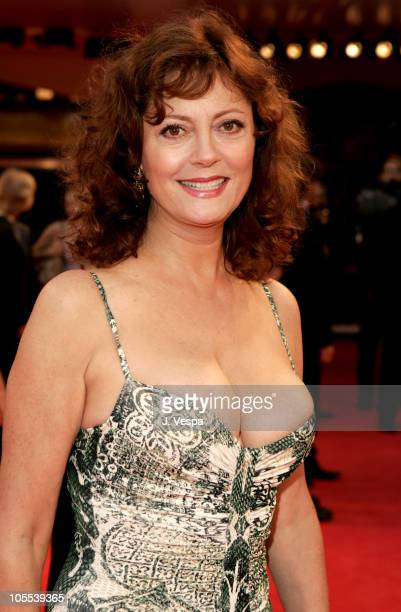 Susan Sarandon during 2005 Venice Film Festival 'Elizabethtown' Premiere at Palazzo del Cinema in Venice Lido Italy