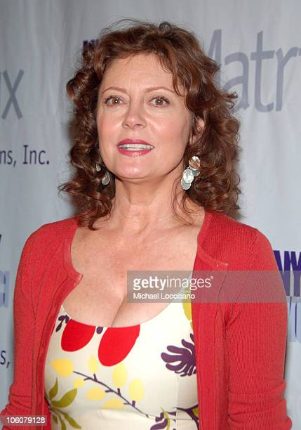 Susan Sarandon during 2006 Annual Matrix Awards at Waldorf Astoria in New York City New York United States