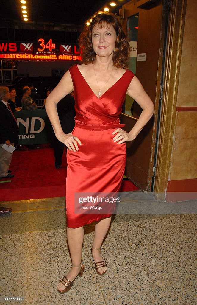 Susan Sarandon during The 2006 Women's World Awards - Inside Arrivals at The Hammerstein Ballroom in New York City, New York, United States.