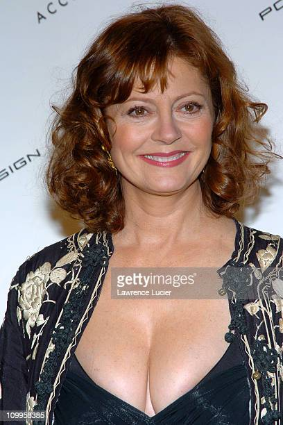 Susan Sarandon during The Accessories Council Presents the 8th Annual Ace Awards at Cipriani 42nd Street in New York City New York United States