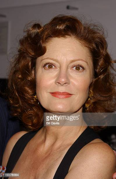 Susan Sarandon during The Film Society of Lincoln Center Honors Susan Sarandon at Avery Fisher Hall in New York City, New York, United States.