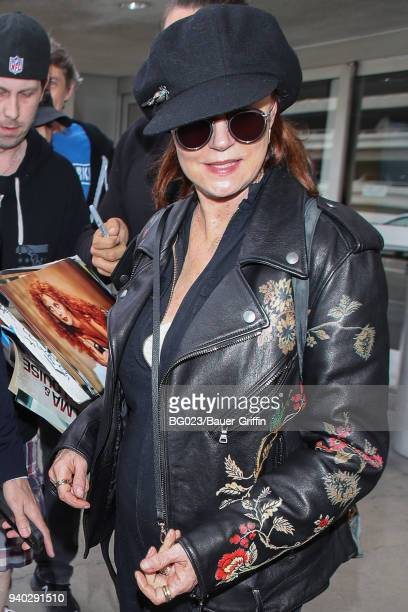 Susan Sarandon is seen on March 30 2018 in Los Angeles California