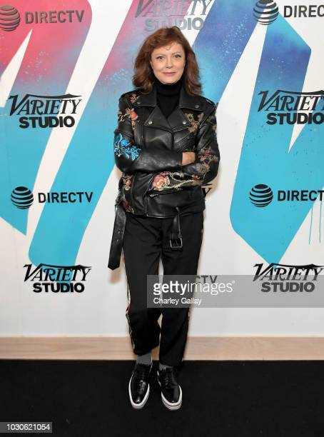 Susan Sarandon stops by DIRECTV House presented by ATT during Toronto International Film Festival 2018 at Momofuku Toronto on September 10 2018 in...