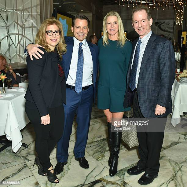 Susan Scaramucci Mandato Anthony Scaramucci Cheryl Casone and Fred Mandato attend Hopping Over the Rabbit Hole Anthony Scaramucci Book Party on...