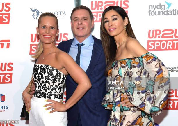 Susan Schafmeister Dr David Colbert and Dara Tomanovich attend the 2018 Up2Us Sports Gala celebrating Service Through Sports at Guastavino's on June...