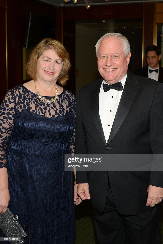 Bill Kristol with nice, Wife Susan Scheinberg