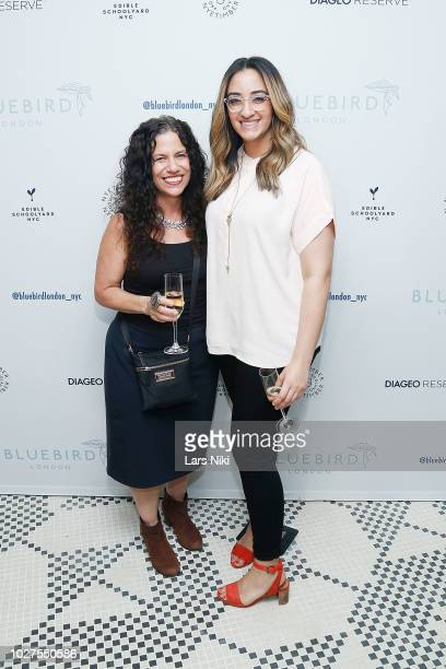 Zaineb Saadeh and Susan Schiffman attend the Bluebird London New York City launch party at Bluebird London on September 5 2018 in New York City