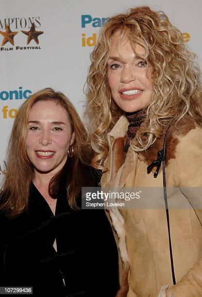 "Susan Seidleman and Dyan Cannon during 13th Annual Hamptons International Film Festival - ""Boynton Beach Bereavement Club"" Screening at United..."