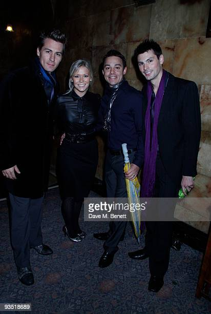Susan Shaw attends the Memorial for Stephen Gateley at the Palace Theatre London on November 29 2009 London England