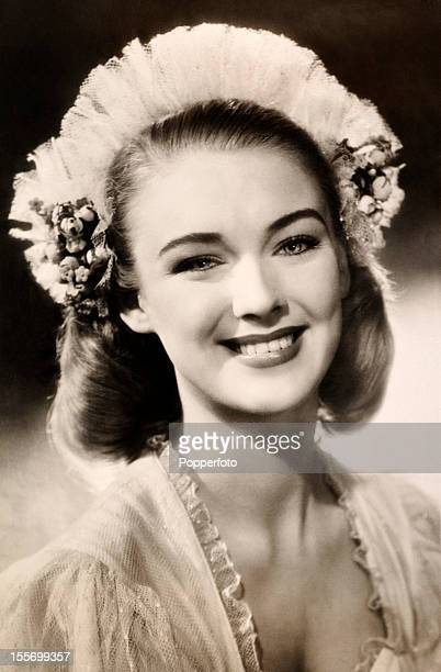 Susan Shaw English actress circa 1950