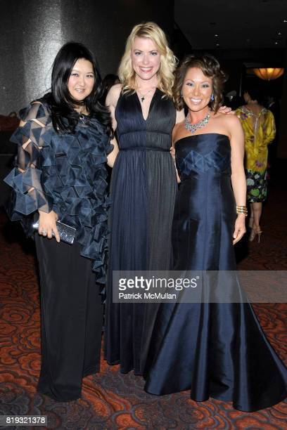Susan Shin Amy McFarland and Alina Cho attend NEW YORKERS FOR CHILDREN Spring Dinner Dance Presented by AKRIS at The Mandarin Oriental on April 8...