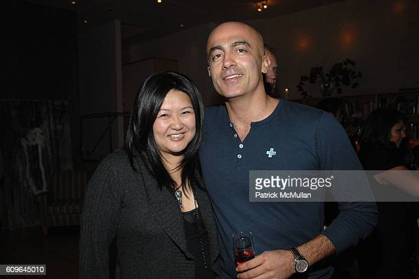 Susan Shin and Alex Tahsili attend Christmas Shopping Celebration For BIANCA PRATTS Jewelry Collection GLAMOUR GIRLS Hosted By ED BENNETT SUSAN SHIN...