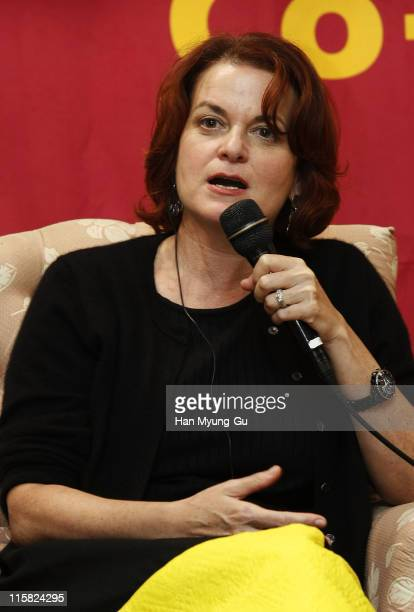 Susan Shopmaker attends International Casting Across Asia on the fifth day of the Pusan International Film Festival 2007 at Grand Hotel on October 8...