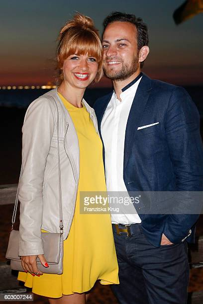 Susan Sideropoulos and Jakob Shtizberg attend the Till Demtroders CharityEvent 'Usedom Cross Country' on September 10 2016 near Heringsdorf in Usedom...