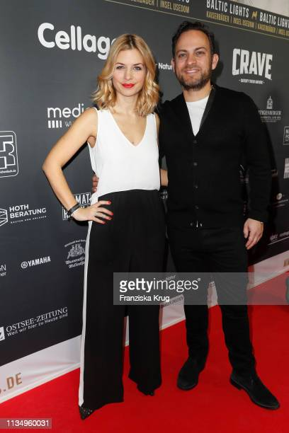 Susan Sideropoulos and Jakob Shtizberg during the Baltic Lights gala night event on March 9 2019 in Heringsdorf Germany The annual charity event...