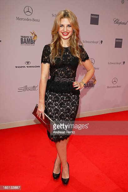 Susan Sideropoulos arrives at Tribute To Bambi at Station on October 17 2013 in Berlin Germany