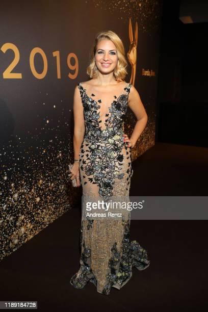 Susan Sideropoulos attends the 71tst Bambi Awards at Festspielhaus BadenBaden on November 21 2019 in BadenBaden Germany